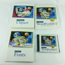 Corel WordPerfect 7 Suite Windows 3.1x  Books and CD Vintage Quattro Pro... - $45.99