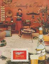 Miller Beer 1952 Southwestern Interior Design Photo AD - $15.00