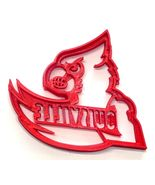 University of Louisville Cardinals Bird Face Cookie Cutter Made in USA PR4155 - $2.99