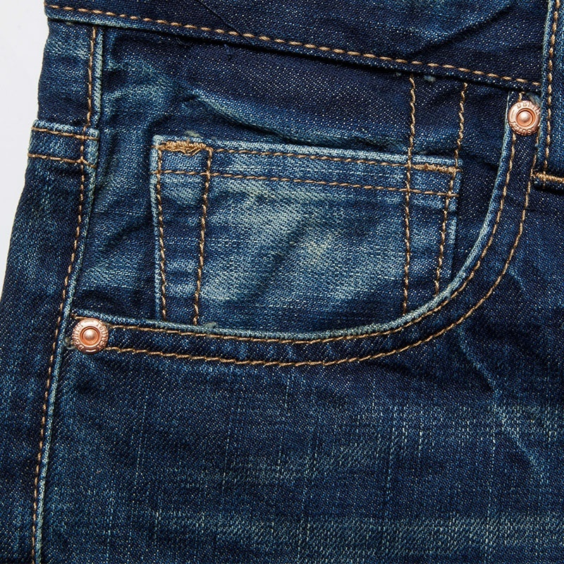 Sportsman fashion personality men's jeans image 8