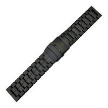 Genuine Luminox Black Carbon Watch Band Strap  Navy SEALs for Series 350... - $124.95