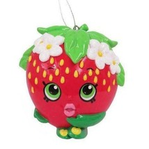Shopkins Strawberry Kiss Blow Mold Christmas Ornament! - $4.99