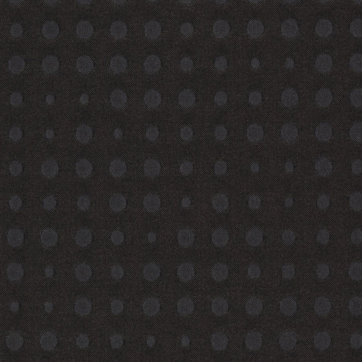 Kvadrat Upholstery Fabric Highfield Dark Brown Quilted Dots 17.25 yds 371 GC