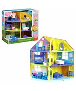 The Huge Home Of Peppa Pig 3 Tier Includes 1 Figure Articulated Toy Child - $328.71