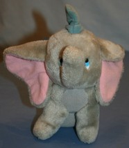 Vtg Walt Disney Productions Dumbo W.D.P Plush Stuffed Animal Elephant - $21.94