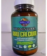 Garden of Life Vitamin Code Whole Food Raw Calcium, 60 vegetarian caps - $21.73