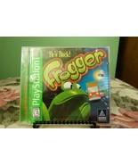 Hes Back Frogger PS PlayStation 1 Near Mint W/ Manual - $39.59