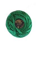 DMC Pearl Cotton Green #909 Coton Perle - $2.70