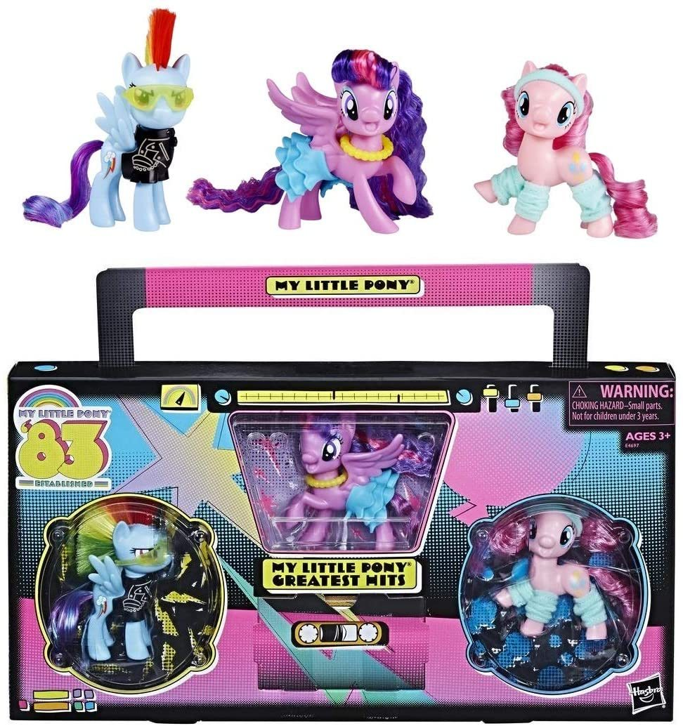 Primary image for My Little Pony SDCC 2018 Hasbro Exclusive Established 1983 Greatest Hits Set