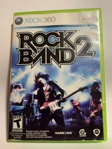 Rock Band 2 (Microsoft Xbox 360, 2008) Complete  - $7.26