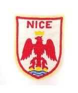 Nice France Coat of Arms Patch Travel Souvenir City  - $7.91
