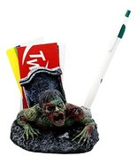 Ebros Gift Walking Dead Crawling Zombie Pen & Business Cards Holder Figu... - $17.99