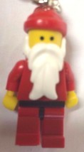 NIB Lego Exclusive Santa Claus Classic Key Chain Set 850150 Keychain - $7.87