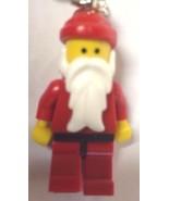 NIB Lego Exclusive Santa Claus Classic Key Chain Set 850150 Keychain - $7.87