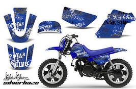 Dirt Bike Grafik Kit Mx Aufkleber für Yamaha PW50 Pw 50 1990-2018 Sssh m... - $39.54