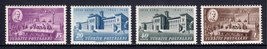 1948 Lausanne Treaty Set of 4 Turkey Postage Stamps Catalog Number 978-81 MNH