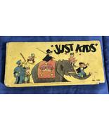 Adventures of Just Kids, Saalfield Oblong Big Little Book # 1052, HC Nea... - $22.27