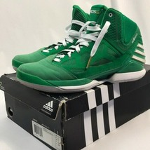 Adidas adiZero Rose 2.5 Green Basketball Shoes Mens 10.5 with Original Box - $80.74