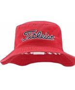 NEW! Titleist Needle Point Bucket Hat 2016 (Small/Medium, Red) - $69.18