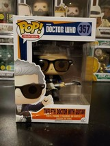 Funko Pop! Television Doctor Who Twelfth Doctor with Guitar #357 WITH PR... - $82.26