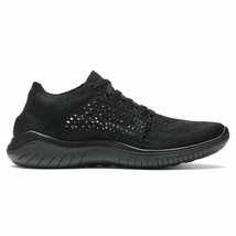 NIKE WOMEN'S FREE RN FLYKNIT 2018 SHOES black anthracite 942839 002 - $109.21