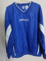 Vintage K Sport NCAA Kentucky Wildcats Pullover Track Jacket Men 2XL Vented - $31.52