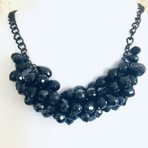Simply Vera Multi Faceted Bead/Bauble Cluster Statement Necklace - $19.25