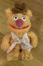 "Disneyland Walt Disney World 11"" Fozzie Bear Muppet Vision 3D Plush Beanie - $14.75"
