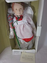 SILVESTRI Christmas PAGENT DOLL Girl Designed by JULIE GOOD-KRUGER 1985  - $19.79