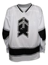 Mike Donnelly #19 New Haven Nighthawks Retro Hockey Jersey New White  Any Size image 1
