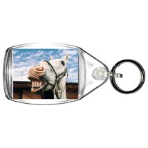 keyring double sided happy horse  fun, novelty, keychain key ring