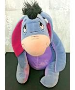 "Disney Winnie The Pooh Eeyore Plush Donkey 12"" Sitting - $13.19"