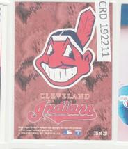 1996 Fleer Team Sets Cleveland Indians #20 of 20 Checklist Baseball Card... - $1.97