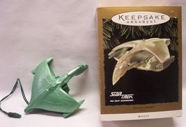 "Hallmark Keepsake Star Trek ROMULAN WARBIRD W/ LIGHTS 5"" CHRISTMAS ORNAM... - $29.70"