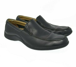 Cole Haan Sz 8M Black Leather Loafers Men's Comfort Slip On Casual Shoes - $39.99