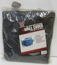 MHP CV3DLX Full Length Fabric Lined Vinyl Grill Cover Color Black Size Large - $64.99