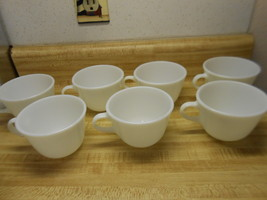 pyrex white cups microwave safe cups - $20.85