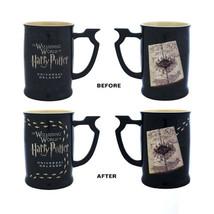 Universal Studios Harry Potter Marauder's Map Heat Reactive Coffee Mug New - $31.90
