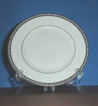 "Wedgwood Ulander Black Salad Dessert Plate 8"" New - $26.90"