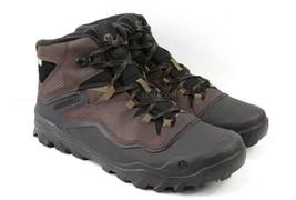 Mens Merrell Overlook 6 Ice + Waterproof Winter Boots - Espresso Size 10.5 - $79.99