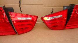 09-11 BMW E90 4dr Sedan Taillight lamps Set LED 328i 335i 335d 328 335 320i image 4