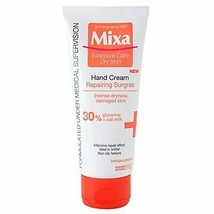 Mixa Intensive Care Repairing Sugars Hand Cream 100ml 3 Count Damaged Ha... - $65.99