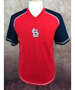 MLB Genuine Merchandise St. Louis Cardinals Pullover Jersey Red Shirt Me... - $11.31