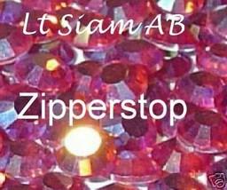 72 Swarovski Crystal Rhinestones ~30ss~ Lt Siam AB - $17.77