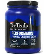 Dr Teal's 4 Lbs Performance Menthol L-Carnitine BCAAs Pure Epsom Salt - $31.67