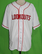 CHATTANOOGA LOOKOUTS 1951 Home BASEBALL JERSEY ANY NAME, ANY # XS - 5XL - $44.95+