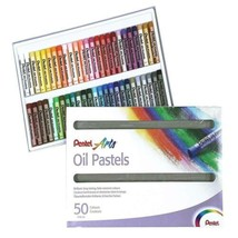 Pentel Pastels à l'huile Boîte de 50 couleurs  - $17.69