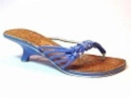 Shoreline Kitten Heel Pearlized Straps Iridescent Stones Just the Right ... - $24.99