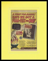 1973 Haunt of Horror Marvel Comics ORIGINAL Vintage 11x14 Framed Advertisement - $39.59
