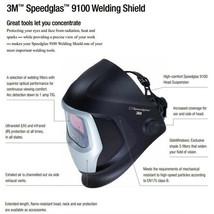 3M Speedglas Welding Helmet 9100XX Extra-Large Size Auto-Darkening Filter image 2